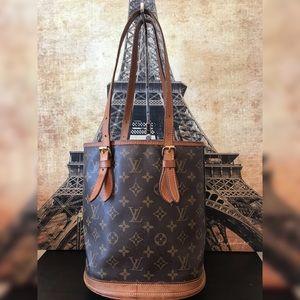 Louis Vuitton Monogram Canvas Petite Bucket Bag